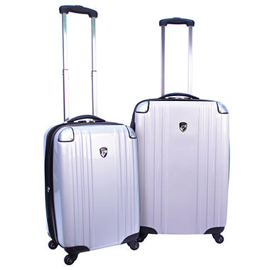 Heys USA Velocity Luggage Set - 2 pc. - Black, Silver or Polka Dot