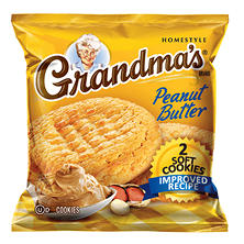 Grandma's Peanut Butter Cookie - 2 cookies per bag - 60 ct.