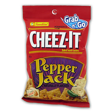 Cheez-It Pepper jack - 3 oz. Bag - 12 ct.
