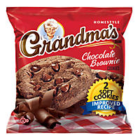 Grandma's Fudge Chocolate Chip Cookie - 2 cookie per pk. - 60 ct.