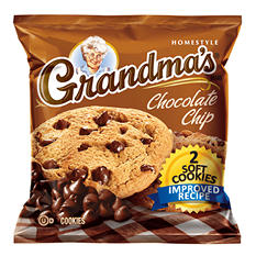 Grandma's Chocolate Chip Cookie - 2 cookies per pk. - 60 ct.