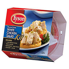 Tyson Chicken Salad Lunch Kit - 4.57 oz. Kit - 12 ct.