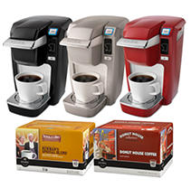 Keurig Bundle - B31 Coffeemaker with 92 K-Cups