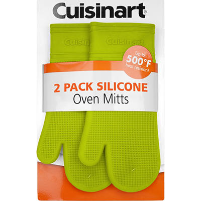 Cuisinart Silicone Oven Mitt, Various Colors (2 pk.)