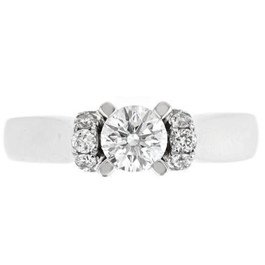 1.0 ct. t.w. Regal Diamond Soiltaire Plus Ring (I, SI2)