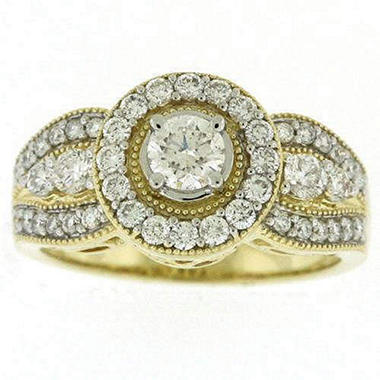 0.96TW DIAMOND RING .32CT RD CTR