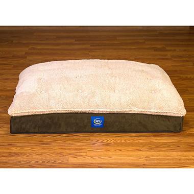 Serta Perfect Sleeper Super Pillowtop Pet Bed Green