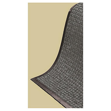 Reservoir High-Traffic Scraper Runner Mat - 3' x 10' - Gray