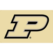 NCAA Purdue Boilermakers 3' x 5' Flag with Pole Mount Kit