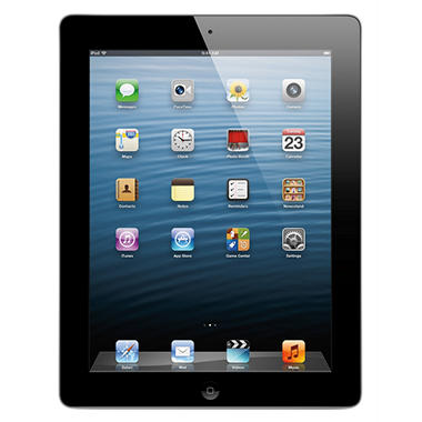 iPad with Retina display Wi-Fi 16GB - Black or White