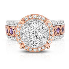 1.45 CT. T.W. Diamond Ring in 14K Two-Tone Gold (I,I1)
