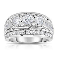 1.95 ct. t.w. Diamond Ring in 14K White Gold (I, I1)