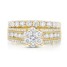 1.95 ct. t.w. Diamond Ring in 14KY HI,I1 (Appraisal Value: $2,155)