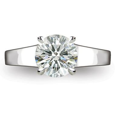 1.68 ct. Round Brilliant-Cut Diamond Solitaire Ring in Platinum  (I, VS1)
