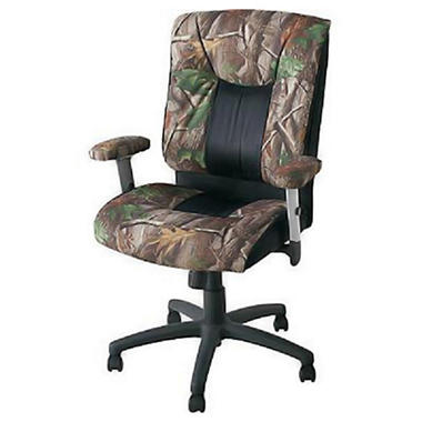 Realtree� Cammo High Back Office Chair