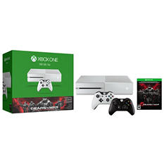 Xbox One 500GB White Console with Extra Controller Bundle