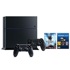 PlayStation 4 500GB Star Wars Console Bundle with Extra Controller
