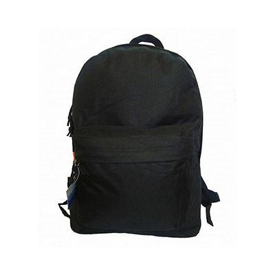"Bazic 16"" Backpacks - Black - 40 pk."