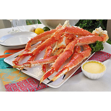 Red King Crab Legs - 20 lb. box