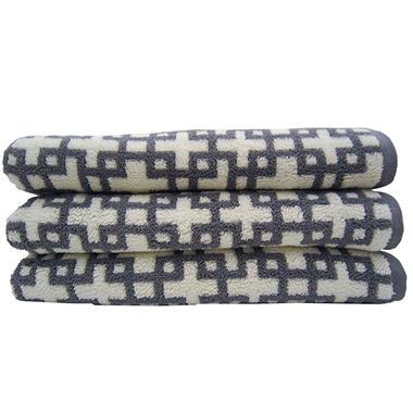 "Loft Fashion Bath Towel - 100% Cotton (30"" x 58"")"