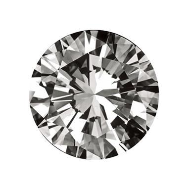 0.72 ct. Round-Cut Loose Diamond (I, VS2)