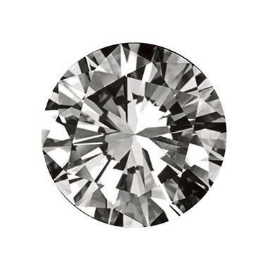 0.71 ct. Round-Cut Loose Diamond (H, VS1)