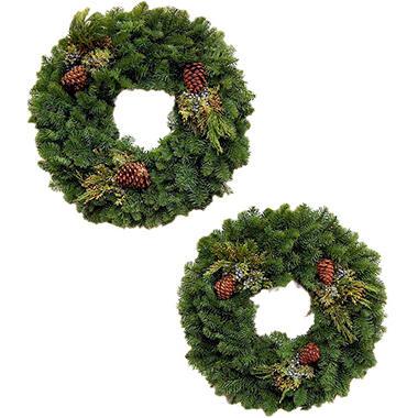 Deluxe Mixed Wreaths