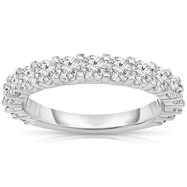 1.00 ct. t.w. 17-Stone Diamond Band in Platinum (H-I, I1)