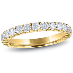 1.00 ct. t.w. 17-Stone Diamond Band in 14K Yellow Gold (H-I, I1)