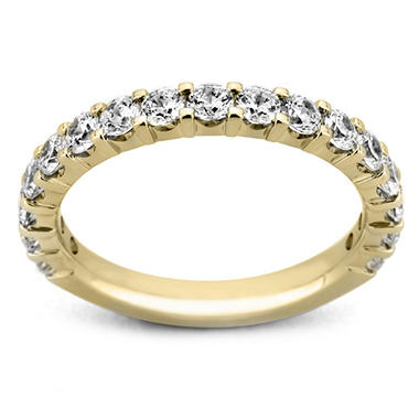 1.50 ct. t.w. 17-Stone Shared Prong Diamond Band in 14K Yellow Gold (H-I, I1)