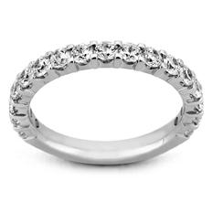 2.00 ct. t.w. 17-Stone Shared Prong Diamond Band in 14K White Gold (H-I, I1)