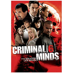 Criminal Minds Season 6 (DVD, 6 Discs)