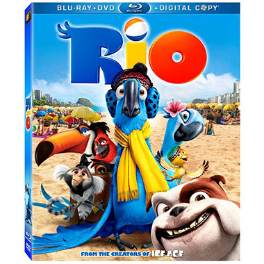 Rio (Blu-ray + DVD + Digital Copy)