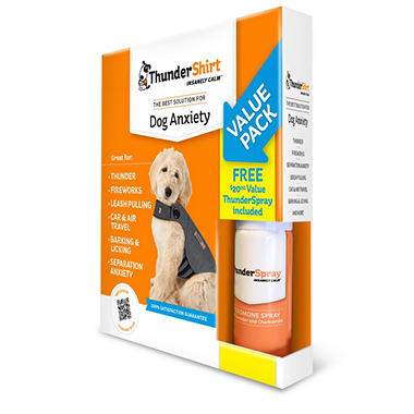 ThunderShirt Dog Anxiety Solution Bonus Pack (Choose Your Size)
