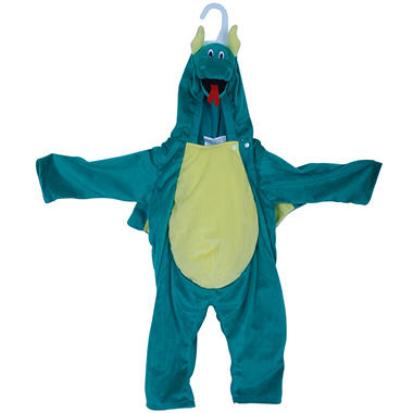 Pretend Play Dragon Big Belly Plush Costume - 2-4T