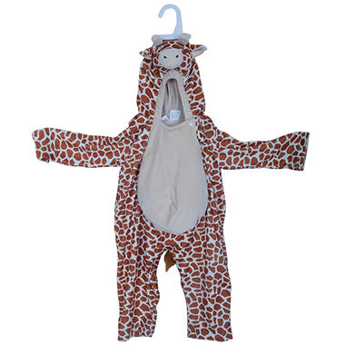 Halloween Giraffe Big Belly Plush Costume - 2 - 4T