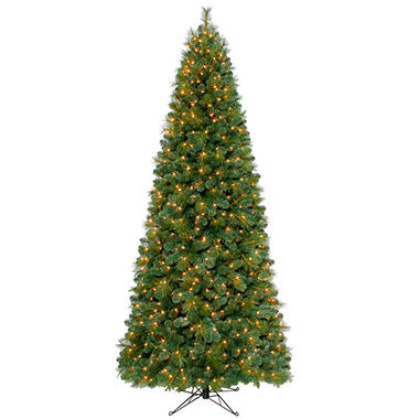 9' Windsor Fir Pre-lit Slim Quick Set® Tree