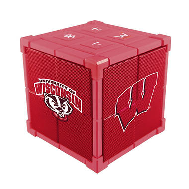 Kube Bluetooth Collegiate Speaker (Choose Your School)