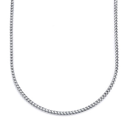 "24"" Men's Franco Chain in Sterling Silver"