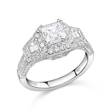 1.73 ct. t.w. Diamond Ring in 14k White Gold (H-I, I1)