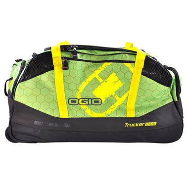 OGIO WHEELED BAG GREEN HIVE