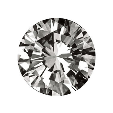 0.37 ct. Round-Cut Loose Diamond  (G, IF)