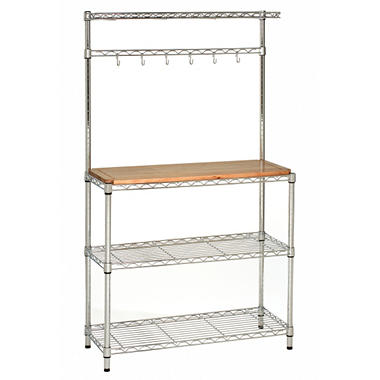 Seville Chrome Baker's Rack