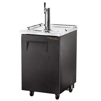 True 1 Keg Direct Draw Beer Dispenser