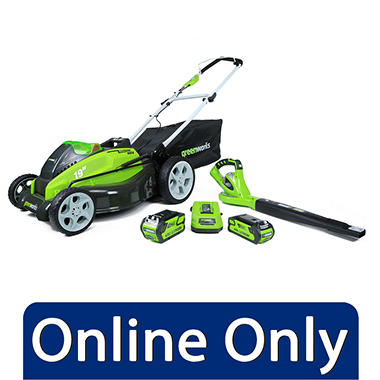 $40.00 off GreenWorks G-MAX 40V 19