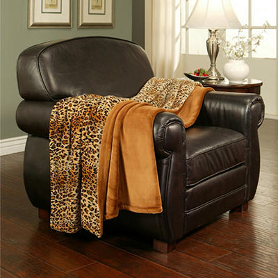 """Lounge Throw (60"""" X 70"""") - Various Colors"""
