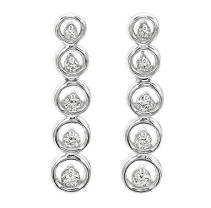.50 ct. t.w. Diamond Journey Earrings (I, I1)
