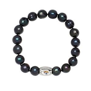 """Jacks Jaguars Freshwater Cultured Pearl 7.5"""" Bracelet"""