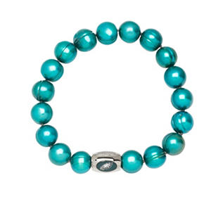 "Philadelphia Eagles Freshwater Cultured Pearl 7.5"" Bracelet"