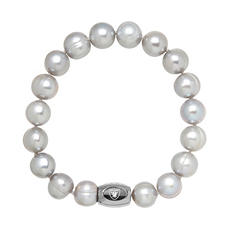 "Oakland Raiders Freshwater Cultured Pearl 7.5"" Bracelet"